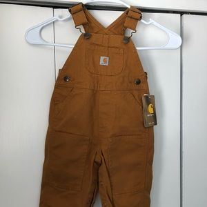 Carhartt Canvas Brown overalls